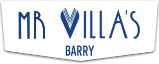 Mr Villa's restaurant in The Knap, Barry in the Vale of Glamorgan near Cardiff